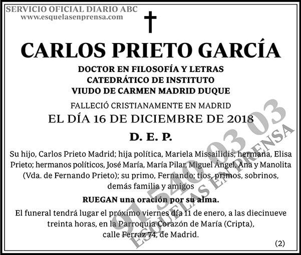 Carlos Prieto García